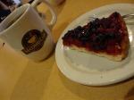 chá amoras e blueberrys - Second Cup - Montréal