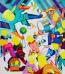 Desenho, pintura e quadrinhos: exposição Novas Aventuras, de NikNeves