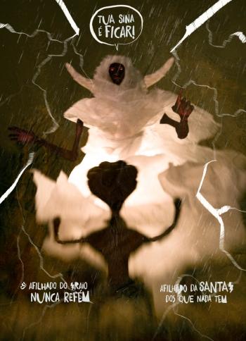Página da histórias em quadrinhos RECONTO, de Indio San e Rodrigo dMart