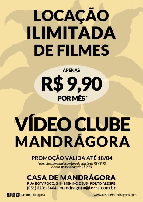 Casa de Mandrágora inova mercado de videolocadoras com plano de locação ilimitada defilmes