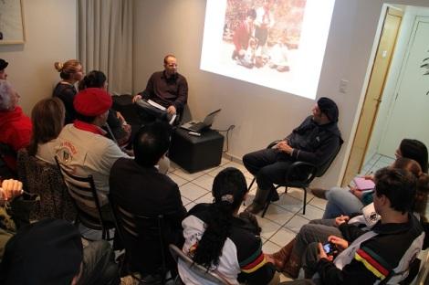 Projeto Vídeo Talk Show na Casa deMandrágora