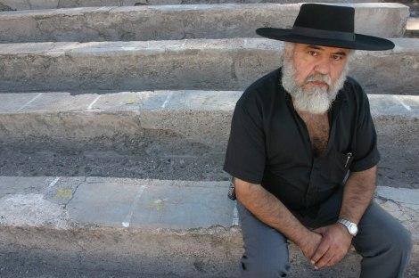 Recitador e folclorista argentino Golondrina Ruiz participa de evento com Demétrio Xavier, em PortoAlegre